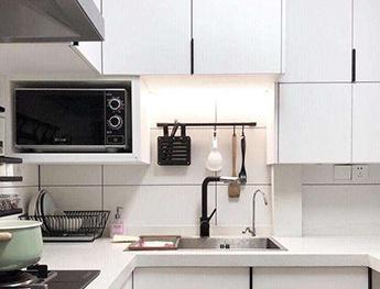 8平米现代式开放厨房改造